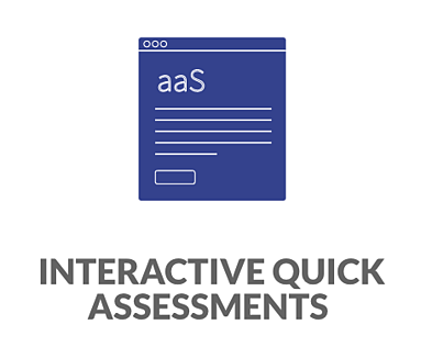 Interactive Quick Assessments