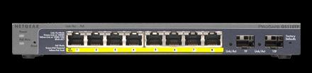 ProSafe 8-port gigabit PoE smart switch